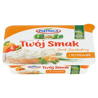 Piątnica Twój Smak Cream Cheese with Seasoning 135 g