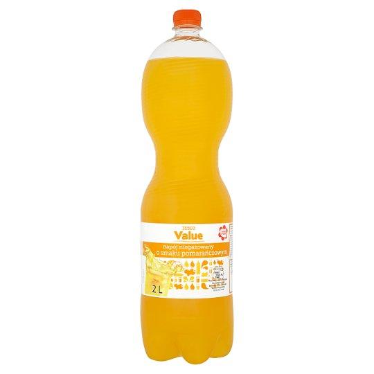 Tesco Value Orange Flavour Drink 2 L