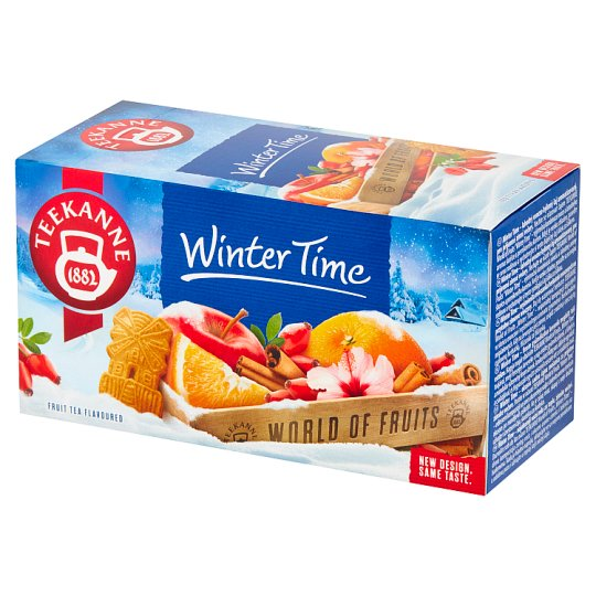 Teekanne World of Fruits Winter Time Flavoured Fruit Tea 50 g (20 x 2.5 g)