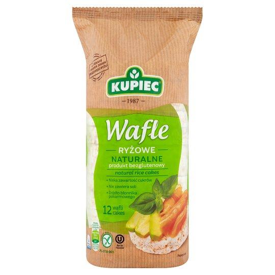 Kupiec Wafle ryżowe naturalne 120 g (12 sztuk)