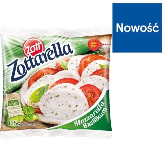 Zott Zottarella Basilikum Mozzarella Cheese 125 g