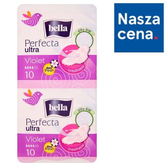 Bella Perfecta Ultra Violet Sanitary Pads 20 Pieces