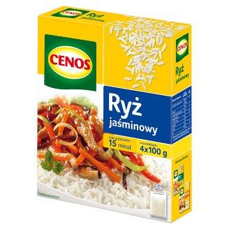 Cenos Jasmine Rice 400 g (4 Bags)