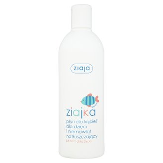 Ziaja Ziajka Bath Bubbles for Kids and Babies from 1 Day of Life 370 ml