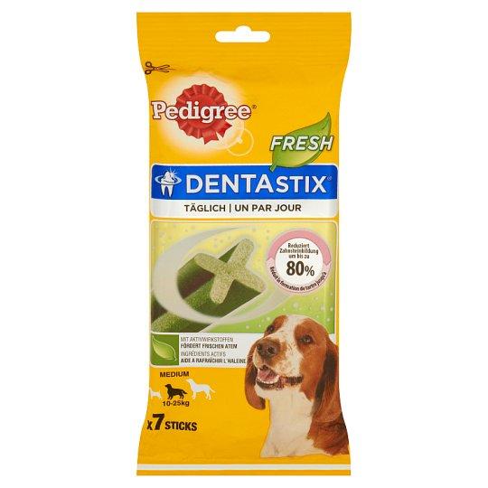 Pedigree DentaStix Fresh Medium Supplementary Dog Food 180 g (7 Pieces)