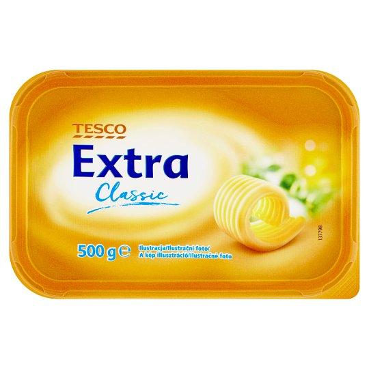 Tesco Extra Classic Margaryna półtłusta 500 g
