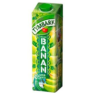 Tymbark Owoce Świata Napój wieloowocowy zielony banan 1 l