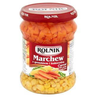 Rolnik Carrot with Peas and Sweetcorn 460 g