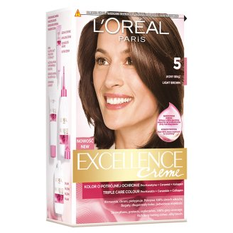 L'Oréal Paris Excellence Creme 5 Light Brown Colouring Cream