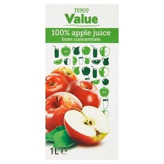 Tesco Value Apple Juice 1 L