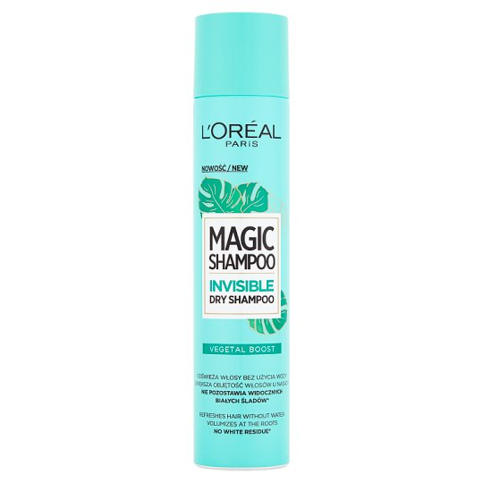 L'Oréal Paris Magic Shampoo Vegetal Boost Dry Shampoo 200 ml