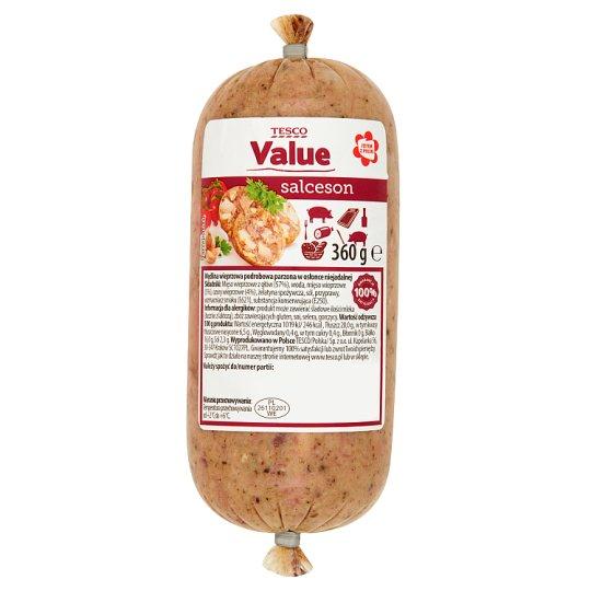Tesco Value Salceson 360 g