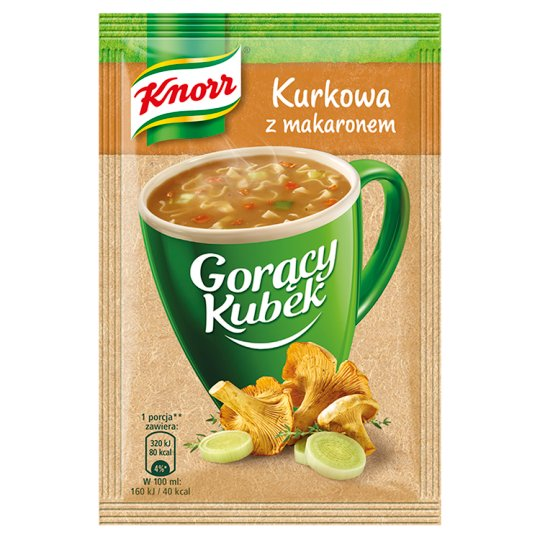 Knorr Gorący Kubek Chanterelle Soup with Noodles 13 g