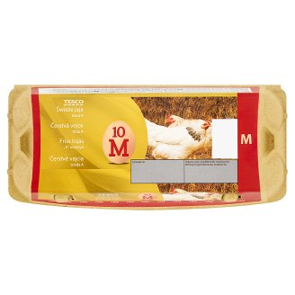 Tesco Świeże jaja M 10 sztuk