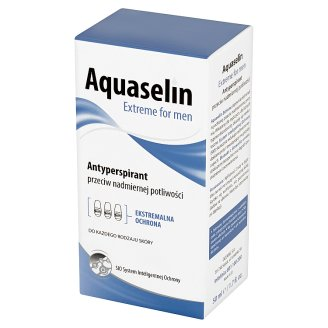 Aquaselin Extreme for Men Anti-perspirant for Excessive Perspiration 50 ml