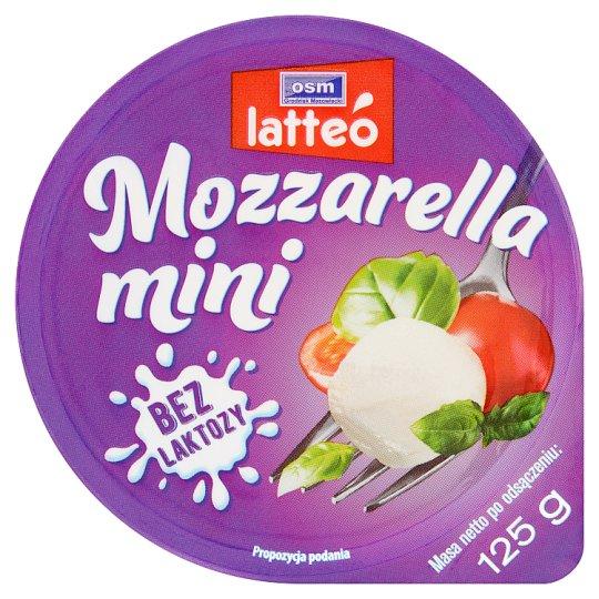 OSM Grodzisk Mazowiecki latteó Lactose Free Mini Mozzarella 125 g
