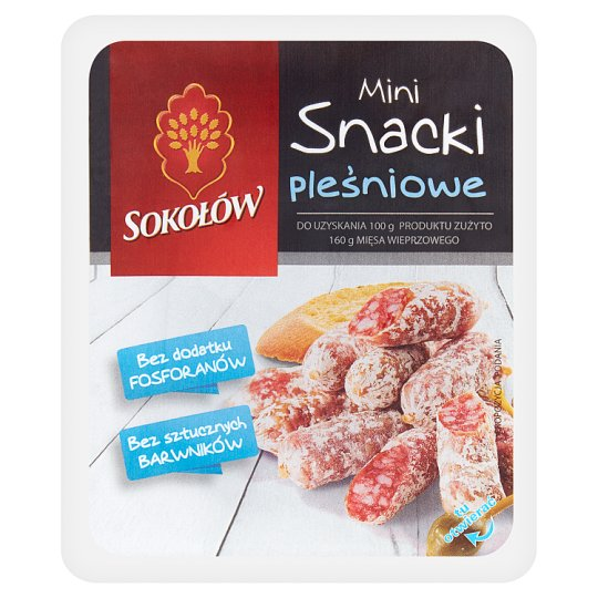 Sokołów Moldy Mini Snacks 100 g