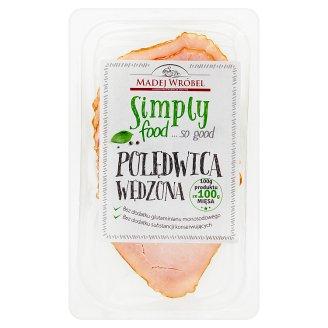 Madej Wróbel Simply food... so good Polędwica wędzona 80 g