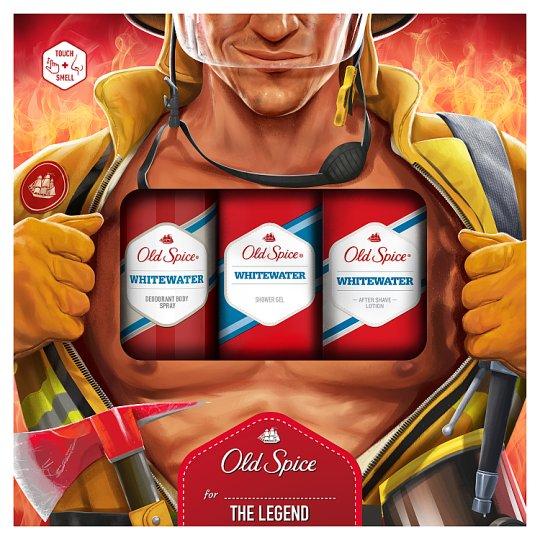 image 1 of Old Spice Men Gift Deodorant Spray 150 ml + Shower Gel 250 ml + Aftershave 100 ml
