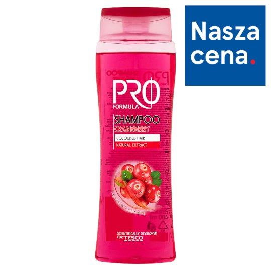 Tesco Pro Formula Cranberry Shampoo 400 ml