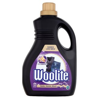 Woolite Darks Denim Black with Keratin Washing Liquid 2 L (33 Washes)
