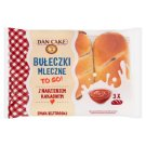 Dan Cake Milk Rolls with Cocoa Filling 180 g (3 Pieces)