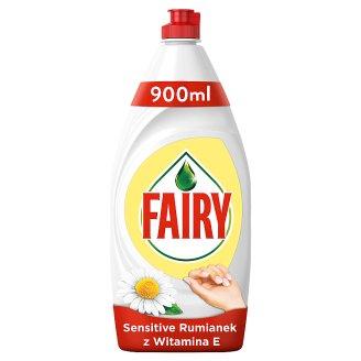 Fairy Sensitive Chamomile & Vit E Płyn do mycia naczyń 900 ml