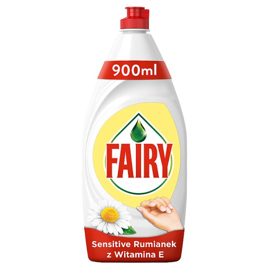 Fairy Sensitive Chamomile & Vit E Płyn do mycia naczyń 900 ml