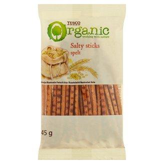 Tesco Organic Ekologiczne paluszki orkiszowe solone 45 g