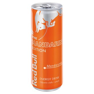 Red Bull Mandarynka Napój energetyczny 250 ml