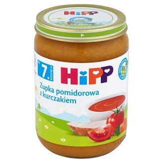 HiPP BIO Tomato Soup with Chicken after 7. Months Onwards 190 g