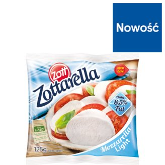 Zott Zottarella Light Mozzarella Cheese 125 g