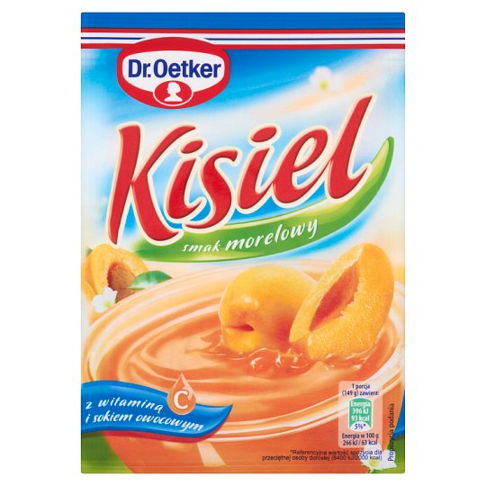 Dr. Oetker Apricot Flavoured Instant Jelly 38 g