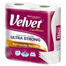 Velvet Excellence Absorbent Sponges Paper Towel 2 Rolls
