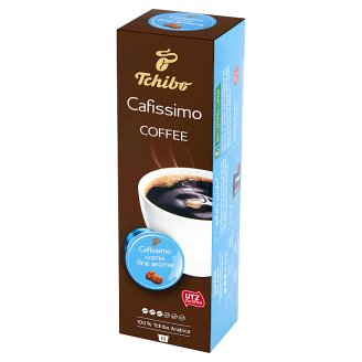 Tchibo Cafissimo Coffee Fine Aroma Roasted Ground Coffee 65 g (10 x 6,5 g)