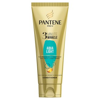 Pantene 3 Minutes Miracle Aqualight For Hair Prone To Grease 200ml