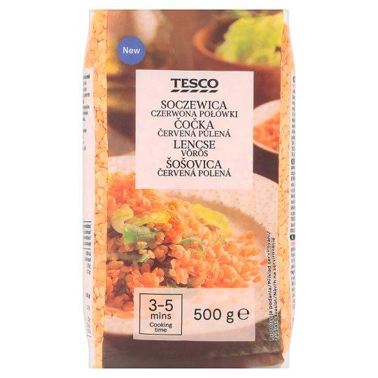 Tesco Split Red Lentils 500 g