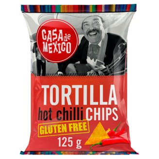 Casa de Mexico Tortilla Hot Chilli Gluten Free Chips 125 g