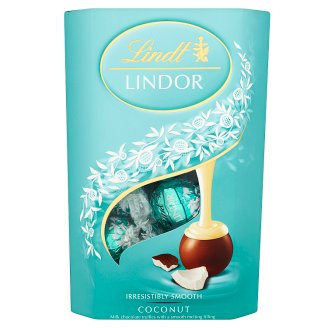 Lindt Lindor Coconut Milk Chocolate Truffles with a Smooth Filling 200 g