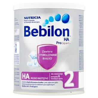 Bebilon HA 2 ProExpert Mleko następne dla niemowląt powyżej 6. miesiąca życia 400 g