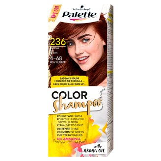 Palette Color Shampoo Coloring Shampoo Red Brown 236