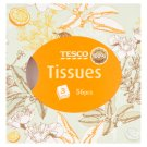 Tesco 3 Ply Cosmetic Tissues 56 Pieces