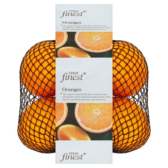 Tesco Finest Oranges 4 Pieces