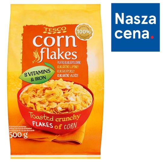 Tesco Corn Flakes Płatki kukurydziane 500 g