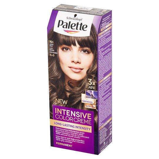 Palette Intensive Color Creme Farba do włosów jasny brąz N4 (5-0)