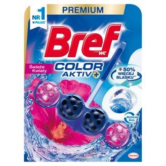 Bref WC Blue Aktiv Fresh Flowers Zawieszka do muszli WC 50 g