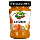 Łowicz Low Sugar Peach Jam 280 g