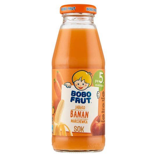 Bobo Frut Apple Banana and Carrot after 5 Months Onwards Juice 300 ml