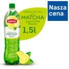 Lipton Ice Tea Green Matcha yuzu lime Napój niegazowany 1,5 l
