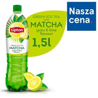 Lipton Ice Tea Green Matcha Yuzu Lime Flavour Drink 1.5 L